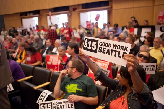Seattle City Council Passes Historic $15/hour Minimum Wage Ordinance