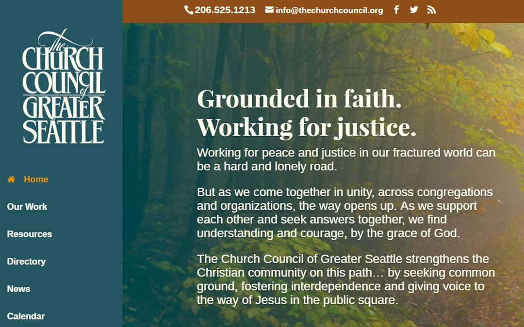 Church Council launches new website