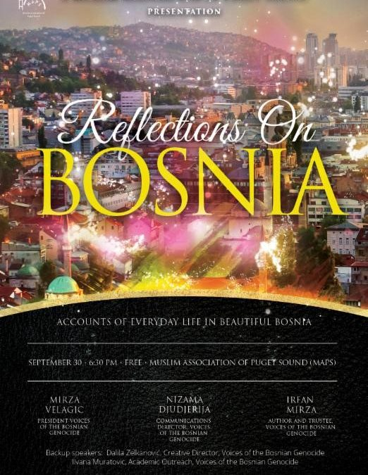 Reflections on Bosnia