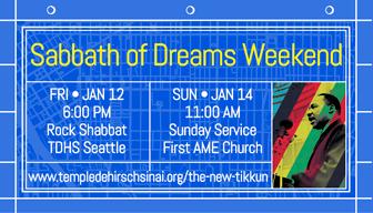 Sabbath of Dreams Weekend – Rock Shabbat