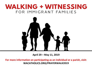 Walking and Witnessing in Solidarity with Immigrant Families