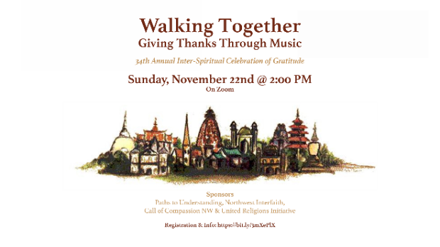 Walking Together: Giving Thanks Through Music